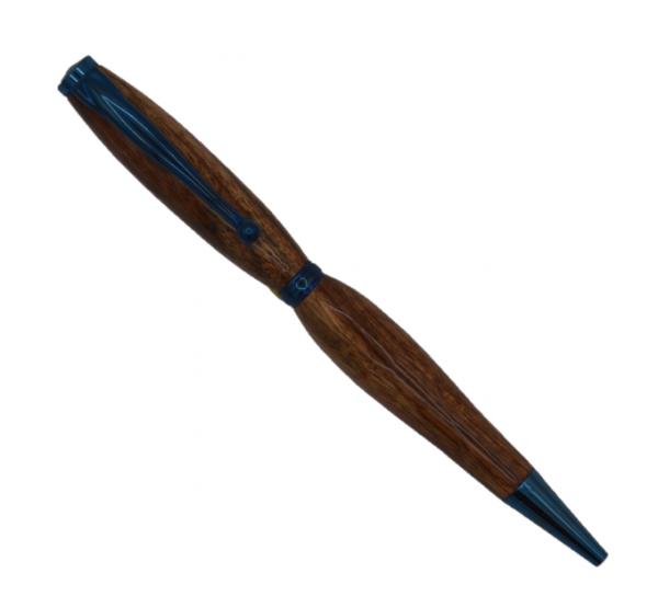 Budget slimline Blue Titainium